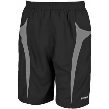 textil Herr Shorts / Bermudas Spiro S184X Svart/grå