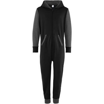 textil Barn Uniform Comfy Co CC03J Svart/Charcoal