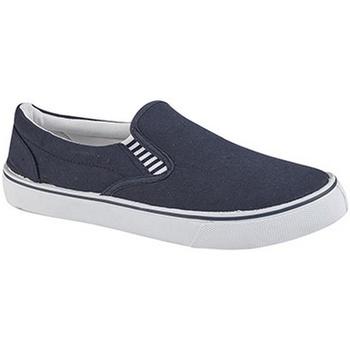 Skor Pojkar Slip-on-skor Dek  Marinblått
