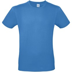 textil Herr T-shirts B And C TU01T Azurblått