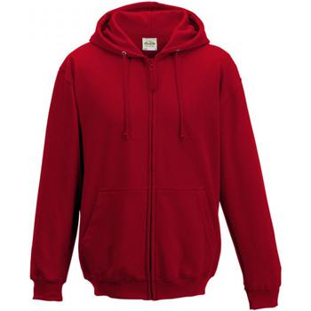 textil Herr Sweatshirts Awdis JH050 Eldröd