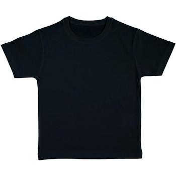 textil Flickor T-shirts Nakedshirt FROG Svart