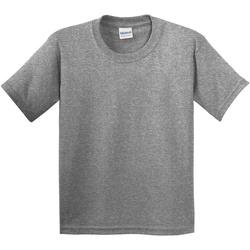textil Barn T-shirts Gildan 5000B Grafit Heather