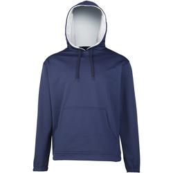textil Pojkar Sweatshirts Rhino RH70B Marinblått/grått