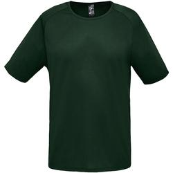 textil Herr T-shirts Sols 11939 Skogsgrön