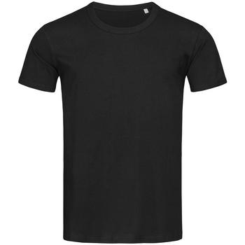 textil Herr T-shirts Stedman Stars Stars Svart opal