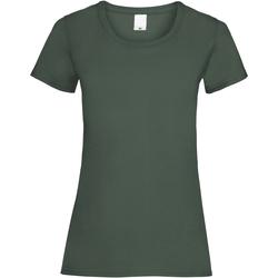textil Dam T-shirts Universal Textiles 61372 Mörkgrön
