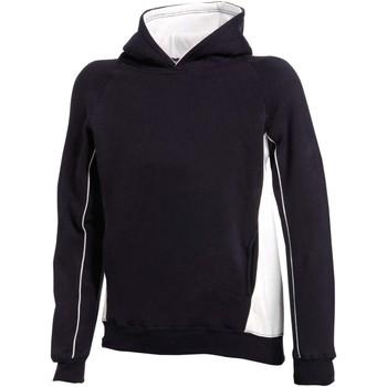 textil Barn Sweatshirts Finden & Hales LV339 Marinblått/vit