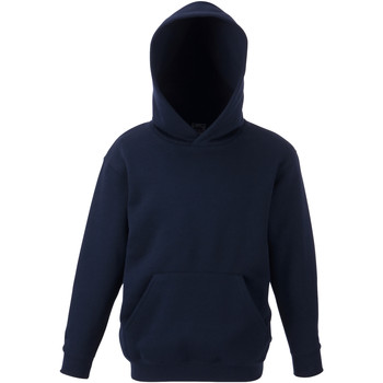 textil Barn Sweatshirts Fruit Of The Loom 62043 Djupt marinblått