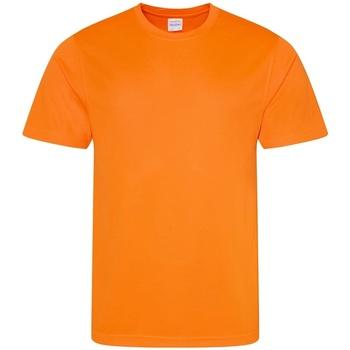 textil Herr T-shirts Awdis JC001 Elektrisk Orange