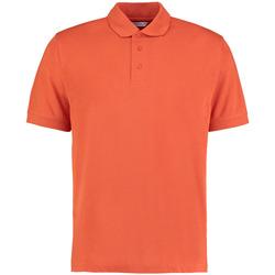textil Herr Kortärmade pikétröjor Kustom Kit KK403 Bränd orange