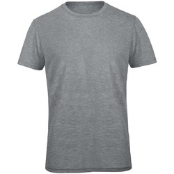 textil Herr T-shirts B And C TM055 Lättgrått i ljummet