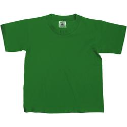 textil Barn T-shirts B And C TK300 Flaskegrön