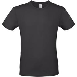 textil Herr T-shirts B And C TU01T Används svart