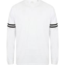 textil Sweatshirts Skinni Fit SF514 Vit