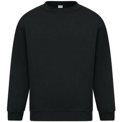 textil Herr Sweatshirts Absolute Apparel Sterling Svart