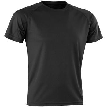 textil T-shirts Spiro Aircool Svart