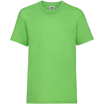 textil Barn T-shirts Fruit Of The Loom 61033 Lime