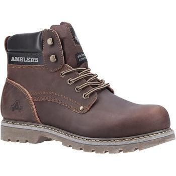 Skor Herr Boots Amblers Dorking Mens Boot Brun Crazy Horse