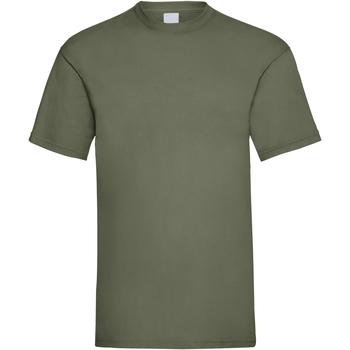 textil Herr T-shirts Universal Textiles 61036 Olivgrön