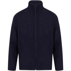 textil Herr Fleecetröja Henbury  Oxford Navy