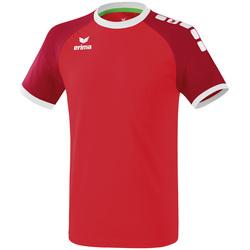 textil Herr T-shirts Erima Maillot  Zenari 3.0 rouge/blanc