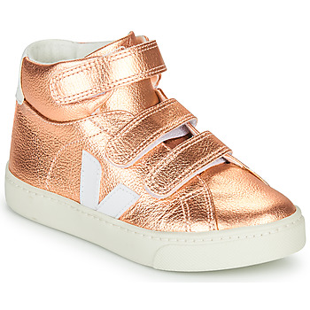 Skor Flickor Höga sneakers Veja SMALL-ESPLAR-MID Rosa