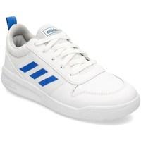 Skor Barn Snörskor & Lågskor adidas Originals Tensaur K Vit,Blå