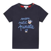 textil Pojkar T-shirts Absorba NADINE Marin