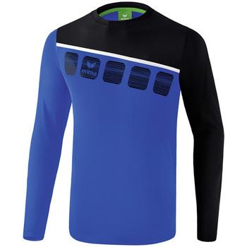 textil Herr Sportoverall Erima Haut d'entrainement manches longues  5-C bleu marine/noir/blanc