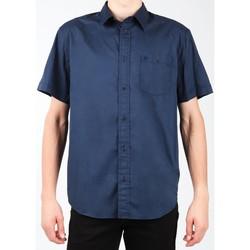 textil Herr Kortärmade skjortor Wrangler S/S 1PT Shirt W58916S35 navy