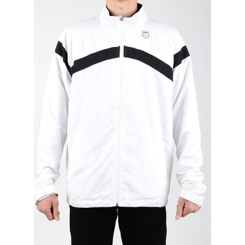 textil Herr Sweatjackets K-Swiss Accomplish WVN JCKT 100627-102 white, black