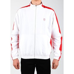 textil Herr Sweatjackets K-Swiss Accomplish Jacket 100250-119 white, red