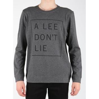 textil Herr Långärmade T-shirts Lee Dont Lie Tee LS L65VEQ06 grey