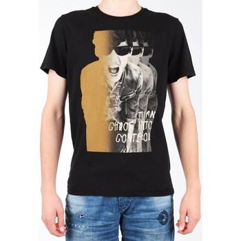 textil Herr T-shirts Lee Photo Tee Black L60BAI01 black