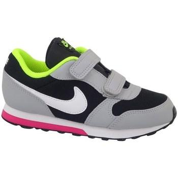 Skor Barn Löparskor Nike MD Runner 2 TD Svarta, Gråa, Celadon