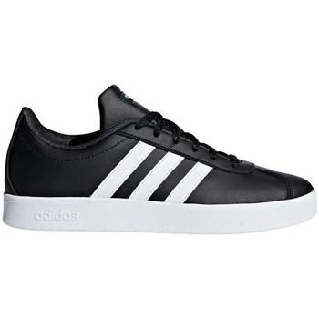 Skor Barn Sneakers adidas Originals VL Court 20 K Svarta