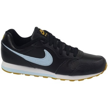 Skor Barn Snörskor & Lågskor Nike MD Runner 2 Flt Svarta
