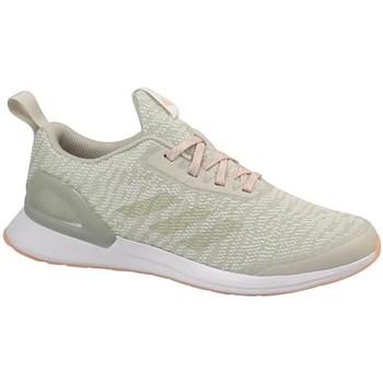 Skor Barn Löparskor adidas Originals Rapidarun X Knit J Beige, Oliv