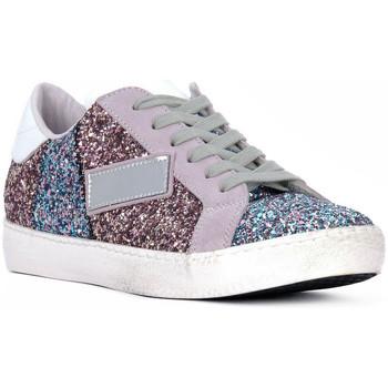 Skor Dam Sneakers At Go GO GLITTER NEWBIG Bianco