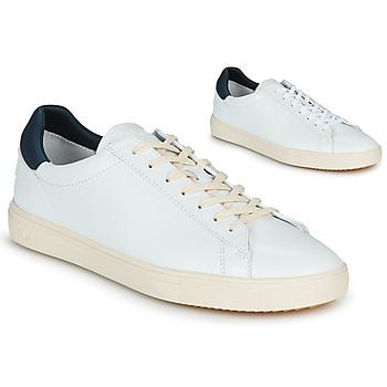 Skor Herr Sneakers Claé BRADLEY Vit / Blå
