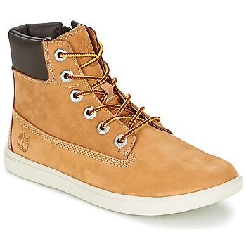 Skor Pojk Boots Timberland GROVETON 6IN LACE WITH SIDE ZIP Vetefärgad