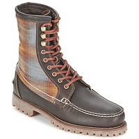 Skor Herr Boots Timberland AUTHENTICS 8 IN RUGGED HANDSEWN F/L BOOT Brun / Mörk / Filt