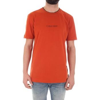 textil Herr T-shirts Calvin Klein Jeans K10K104934 Arancio