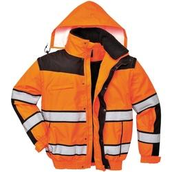 textil Herr Vindjackor Portwest PW332 Orange/ svart