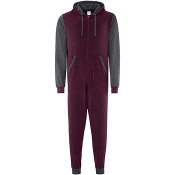 textil Uniform Comfy Co CC003 Burgundy/Charcoal