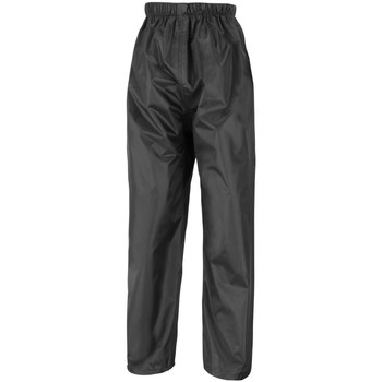 textil Barn Joggingbyxor Result R226J Svart