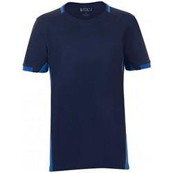 textil Barn T-shirts Sols 01719 Marinblått/Royalblått