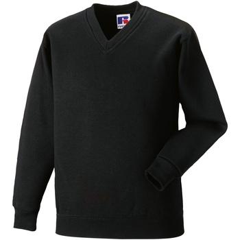 textil Barn Sweatshirts Jerzees Schoolgear 272B Svart