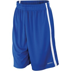 textil Herr Shorts / Bermudas Spiro S279M Kunglig/vit